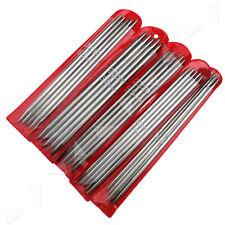 55pcs Double Point Stainless Steel Knitting Needles Kit Set Various Sizes