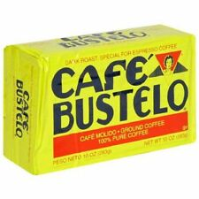 8 PACKS)) CAFE BUSTELO- CUBAN COFFEE ESPRESSO (8 X10-oz BRICKS).