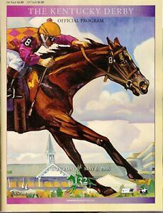2006 - 132nd Kentucky Derby program in MINT Condition - BARBARO