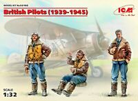 ICM 32105 - 1/32 British Pilots (1939-1945) (3 figures)
