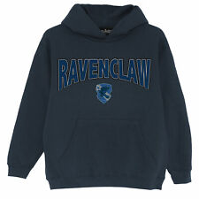 Official Kids Harry Potter Hoodie Ravenclaw Shield Boys Girls Pullover Jumper