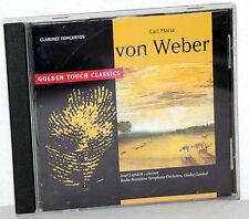 CD von WEBER - Clarinet Concertos - Jozef Luptácik (Clarinet)