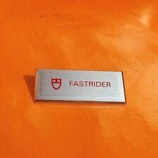 TUDOR - FASTRIDER - MODEL PLAQUE - TAG - SWIMPRUF - SHOWCASE STAND -