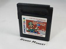 GAME BOY GALLERY 3 DMG-AGQJ SUPER MARIO GAME BOY COLOR GBC JP JAP GIAPPONESE