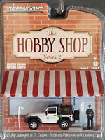 Greenlight The Hobby Shop Serie 2 2016 Jeep Wrangler US Zoll mit Offizier