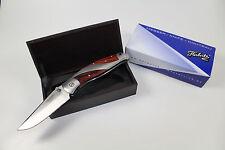 NEW German Herbertz Folding Pocket One Hand Opening Knife In Wooden Box NEW