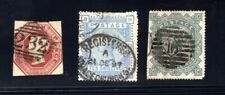 Great Britain 3 High Catalog Stamps with Faults or Repairs