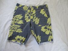 Denim Supply Ralph Lauren retro GI military army black yellow Hawaiian shorts 31