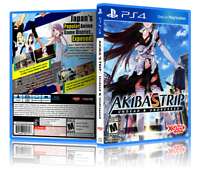 Akiba's Trip - ReplacementPS4 Cover and Case. NO GAME!!