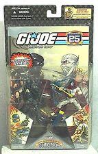 GI Joe Comic 2Pack Snake Eyes & Storm Shadow 25th Anniversary Action Figures MIC