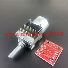 Japan ALPS RK168 Potentiometer 100K Rotary Motor-driven Quad Metal shaft Remote