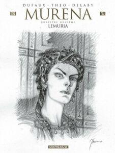 Muréna - tome 11 : Version Spéciale Crayonnee Numérotée