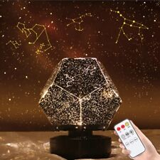 Minimalist LED sky projector star light nebula projector children night light
