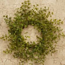 New Country Primitive Baby Grass Candle Ring Wreath