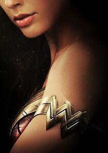 WONDER WOMAN Movie PHOTO Print POSTER Film Art Gal Gadot Justice League 007