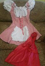 Leg Avenue Red Riding German Halloween Costume Dress Size Women's Small