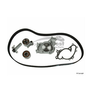 One New Gates Engine Timing Belt Kit with Water Pump TCKWP257 for Toyota & more