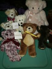 Vintage Dakin Stuffed Plush Animals Lot of 7.