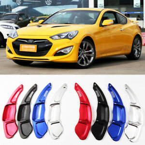For HYUNDAI ROHENS COUPE Steering Wheel DSG Paddle Shifters Extension Aluminum