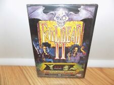 Evil Dead 2: Dead by Dawn (DVD, 2000) Bruce Campbell BRAND NEW FACTORY SEALED!!!