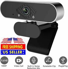 Full HD USB Video Webcam for PC Desktop Laptop Web Camera with Microphone 1080P
