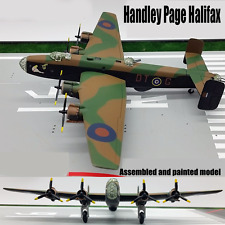 WWII British Handley Page Halifax bomber aircraft 1/144 diecast plane Model
