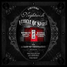 Nightwish Vehicle of Spirit 2 CD 3 DVD 5 Disc Set 2017 Nuclear Blast USA