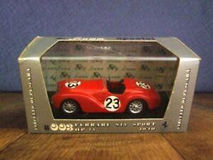 Brumm Special s003 Ferrari S15 Sport, race car no 23