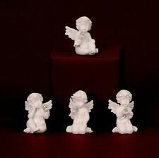 12 Engel mit Kugel Diamantform je 6cm sortiert