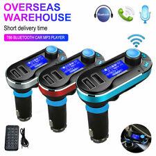 Bluetooth Car FM Transmitter Dual USB Charger Hands-free MP3 Radio Adapter US DA