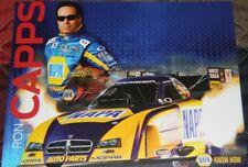2012 Ron Capps Napa Dodge Mopar Charger Funny Car NHRA postcard