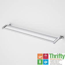 Caroma Cosmo Coolibah Double Towel Rail 900mm Chrome on Brass 306133C
