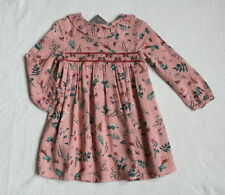 ***BNWT Next baby girl Pink Pretty Collar ditsy dress 12-18 months***