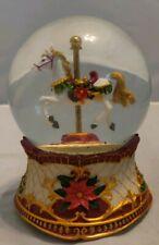 RARE Musical Horse Carousal Snow Globe, FREE SHIPPING!