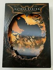 Batman Begins Dvd 2008 Limited Edition Gift Set