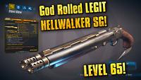 Borderlands 3 HELLWALKER Shotgun Level 65 High Health Breaker 300/90 PC XBOX PS4