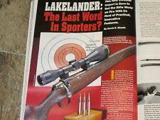 GUNS & AMMO TEST THE VOLQUARTSEN 22 MAG, LAKELANDER RIFLE+ 45-70 LOADS