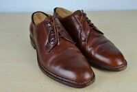 Silvano Lattanzi for Barneys Shell Corovan Light Brown Oxford Dress Shoes Sz 9.5