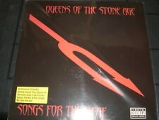 QUEENS OF THE STONE AGE  SONGS FOR THE DEAF  2- LP COLORED VINYL  EUROPE