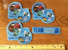 Disney Pixar Cars Movie Fabric Iron On Appliqués-   style #13