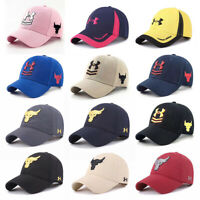 Under Armour Baseball Cap Sport Outdoor Hiphop Bull Storm Leisure Unisex UA Hat