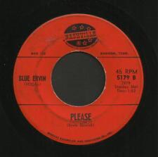 Country Bop Rockabilly 45 ~ Blue Ervin ~ Please ~ Nashville ~ Listen!