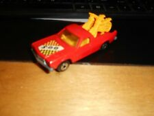#2 Matchbox Lesney Superfast No 60 Holden Pick-Up Red, 2 bikes Dot Dash wheels