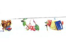 PORTAGIOIE rlowers e alberi Design Washi Nastro 15mm WIDE 10 M ROTOLO KAWAII