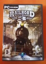 GIOCO PC CD ROM, RAILROAD TYCOON 3, PERFETTO, MANUALE ITALIANO