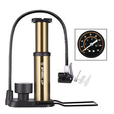 Portable Floor Track Pump With Gauge Bicycle Bike Tyre Football 160PSI Schrader
