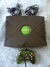 Original Xbox Hard Modded 1TB Bundle Plays Modified Games DVDS + Free Shipping