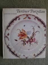 Berliner Porzellan DDR Buch Klassizismus Geschirr Porzellanmanufaktur Jugendstil