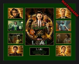 LOKI 2021 THE GOD OF MISCHIEF -  LIMITED EDITION OF 100 ONLY SIGNED MEMORABILIA