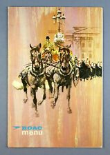 More details for boac vintage 1966 airline menu b.o.a.c. karachi intercontinental hotel pakistan